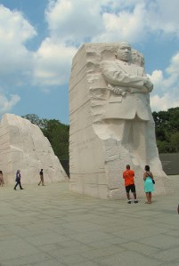 In death, as in life, Dr. Martin Luther King, Jr., stood heads and shoulder above those around him.
