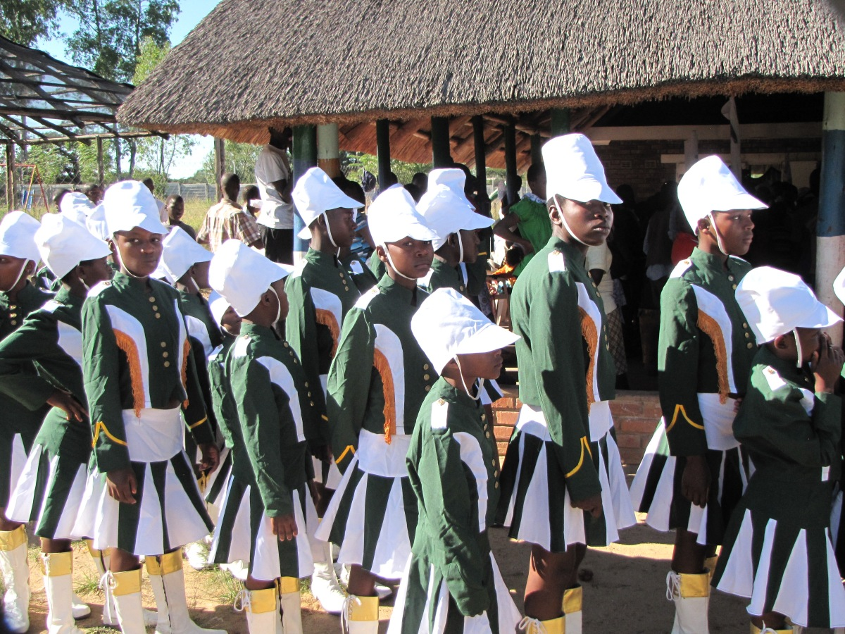 """""""Mbare High School Marchers"""""""