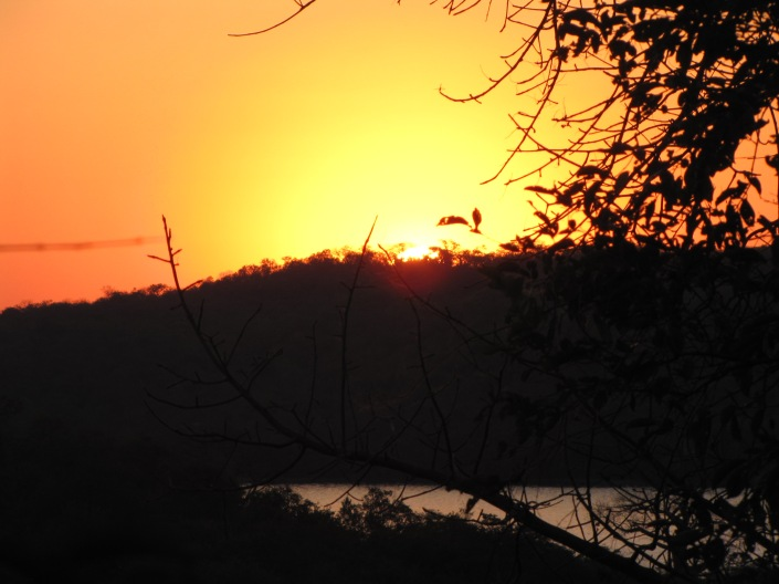 """Sunset near Lake Kariba"""