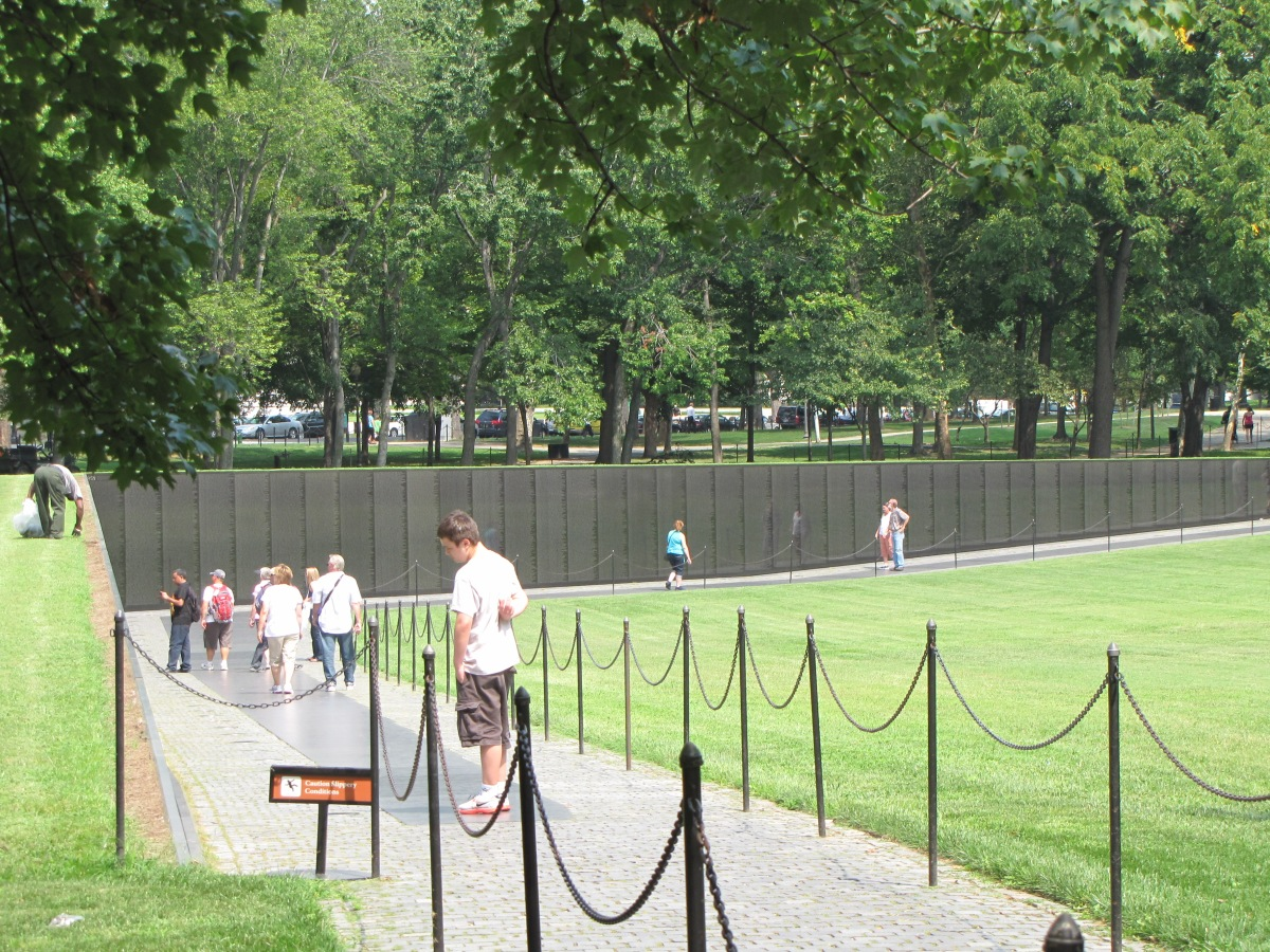 """Vietnam Memorial Wall"""