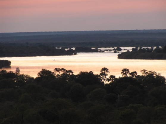 Lake Kariba at sunset