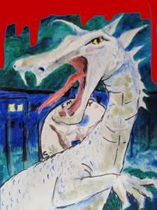 White Dragon Art