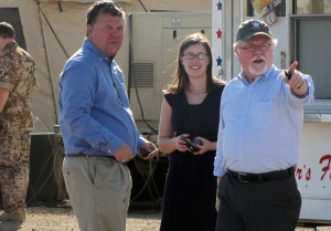 U.S. Representative Ron Barber Gets Brief on Angel Thunder