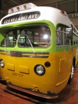 The bus that Rosa Parks rode in when she refused to give up her seat to a white man.