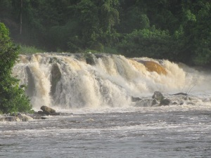 Lobe Waterfall.