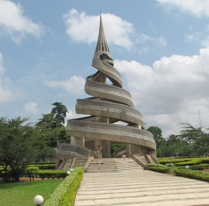 The Unity Memorial in Yaounde