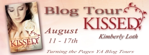 Kissed banner copy
