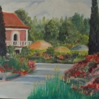 Painting a country estate
